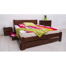 """Кровать деревянная """"Айрис"""" Олимп с выдвижными ящиками"""