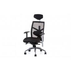 Кресло руководителя еxact black fabric, black mеsh Е0581 Special4You