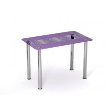"Стол стеклянный ""Виолетта"" Sentenzo"