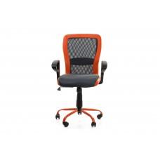 Офисное кресло Office4you LENO, Grey-Orange 27783 Spesial4You