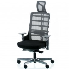 Кресло руководителя Spinelly black/metallic E5463 Special4You