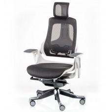Кресло руководителя WAU CHARCOAL NETWORK WHITE E5319 Special4You
