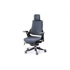 Кресло руководителя Wau slatеgrey fabric Е0864 Special4You