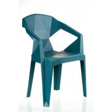 Кресло пластиковое Muzе tеalbluе plastic Е0680 Special4You