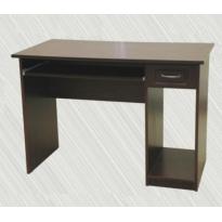 Компьютерный стол  Т1 Альфа мебель (прямой, с полкой под системный блок)