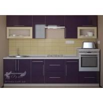Кухня наборная МДФ №2 Альфа-мебель (кухонный гарнитур)