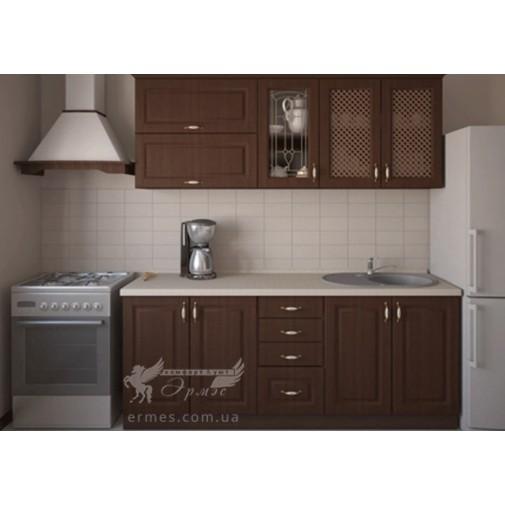 Кухня наборная МДФ  №3 Альфа-мебель (кухонный модульный гарнитур)