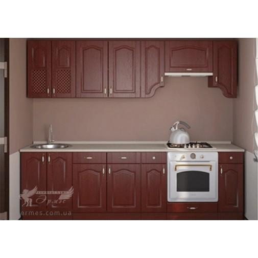 Кухня наборная МДФ  №4 Альфа-мебель (кухонный модульный гарнитур)