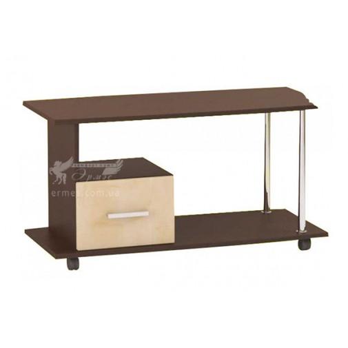 """Журнальный столик """"М2"""" Альфа (кофейный столик с ящиком, на колесиках)"""