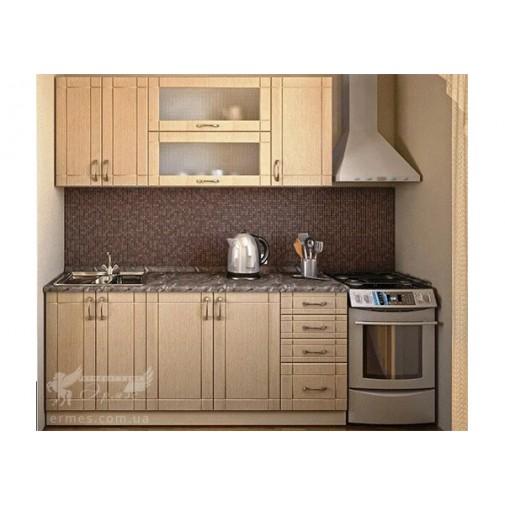 Кухня наборная МДФ  №1 Альфа-мебель (кухонный гарнитур)