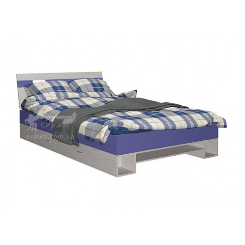 """Ліжко дитяче """"Axel R"""" Blonski (з високим узголів'ям)"""