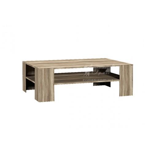 Журнальний стіл Bolonia Q Blonski (прямокутний з поличками)