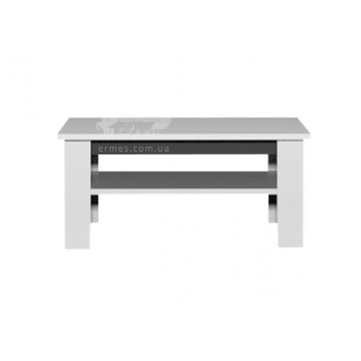 Журнальный стол Silver Q Blonski (белый прямоугольный)