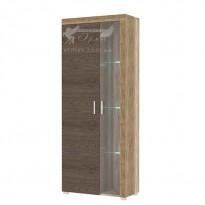 Витрина Teano G Blonski (двухдверный шкаф со стеклянным элементом)