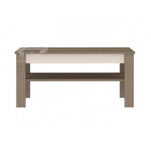 Журнальный столик Arte Q Blonski (прямоугольный с дополнительной полочкой)