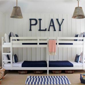 Двоярусні ліжка для дітей