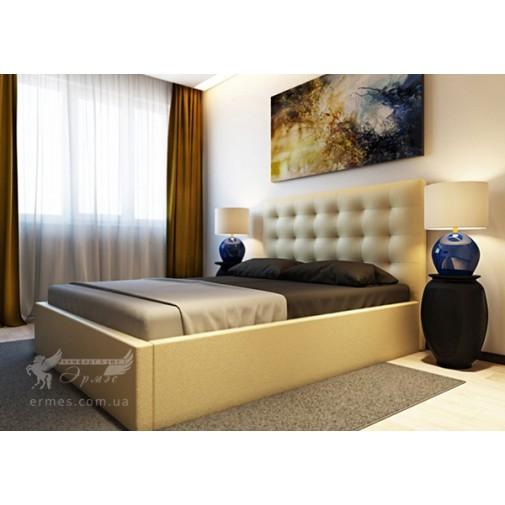 """Ліжко """"Арма"""" Corners (м'яке ліжко в сучасному стилі)"""