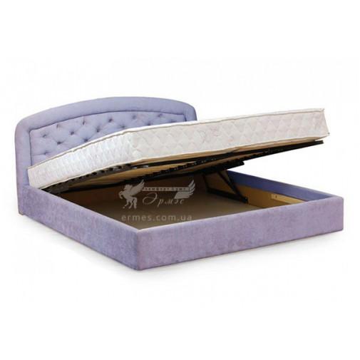 """Ліжко """"Гоа"""" з підйомнім механізмом Corners (з коробом для зберігання)"""