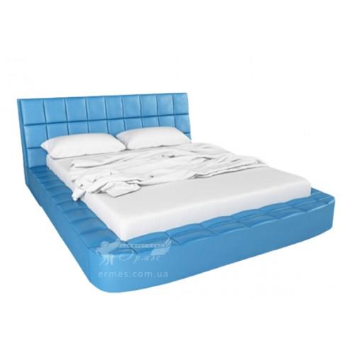 """Ліжко """"Лайк"""" з підйомним механізмом Corners (ліжко-подіум з м'якою спинкою)"""