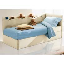 """Кровать детская """"Тедди"""" с подъемным механизмом Corners (с бортиками и коробом)"""