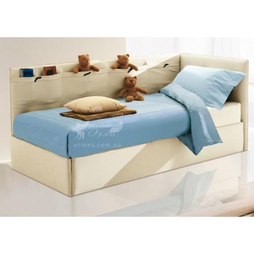 """Ліжко дитяче """"Тедді"""" Corners (м'яке ліжко з бортиками)"""