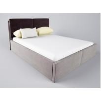 """Кровать """"Нелли"""" с подъемным механизмом Corners (с высоким мягким подголовником)"""