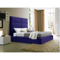 """Кровать """"Рига"""" с подъемным механизмом Corners (мягкая с высоким подголовником)"""
