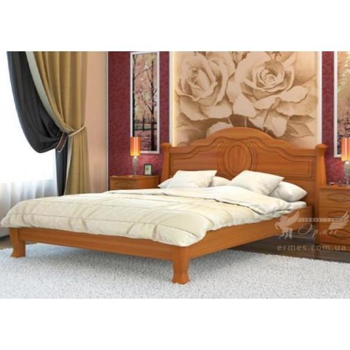 """Ліжко """"Анна-Елегантна"""" DA-KAS (дерев'яне ліжко на ніжках)"""