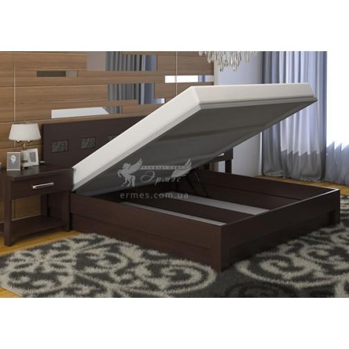 """Ліжко """"Діана Мікс"""" з підйомним механізмом DA-KAS (дерев'яне ліжко з коробом)"""