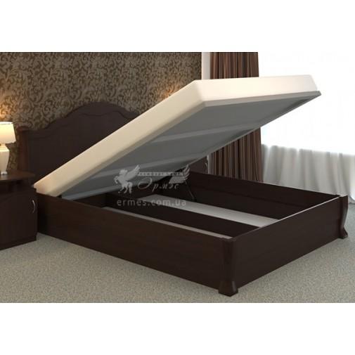 """Кровать деревянная """"Татьяна Элегант"""" с подъемным механизмом DA-KAS (с местом для хранения)"""