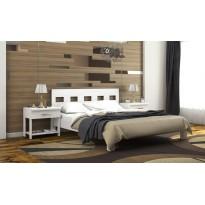 """Кровать """"Диана"""" с подъемным механизмом DA-KAS (деревянная кровать из дуба)"""