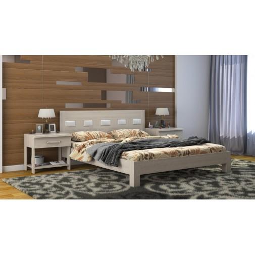 """Кровать """"Диана Микс"""" DA-KAS (деревянная кровать из ясеня)"""