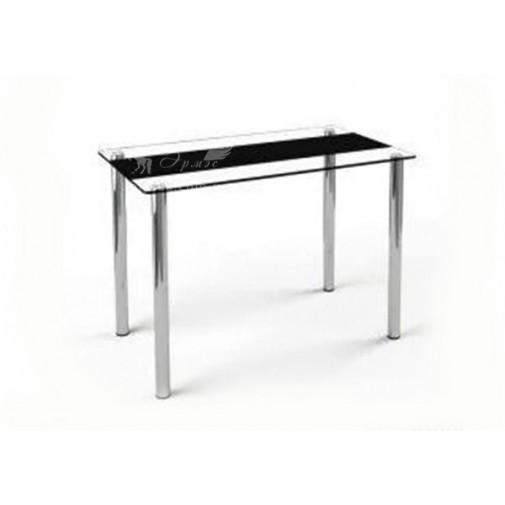 Стол обеденный S1 ESCADO (прямоугольный стол на хромированных опорах)