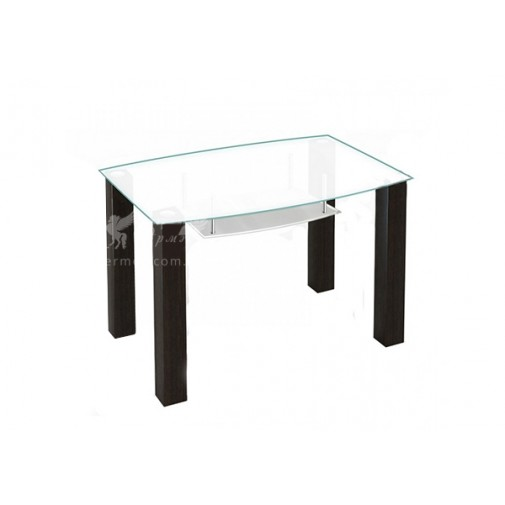 Стол обеденный SW12 ESCADO (стеклянный с деревянной основой)