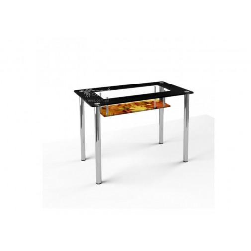 Стол обеденный S3 ESCADO (стеклянный с дополнительной столешницей)