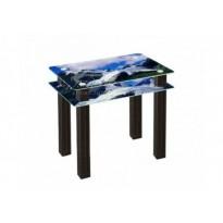 Стол обеденный SW4 ESCADO (стеклянный с декоративной столешницей)
