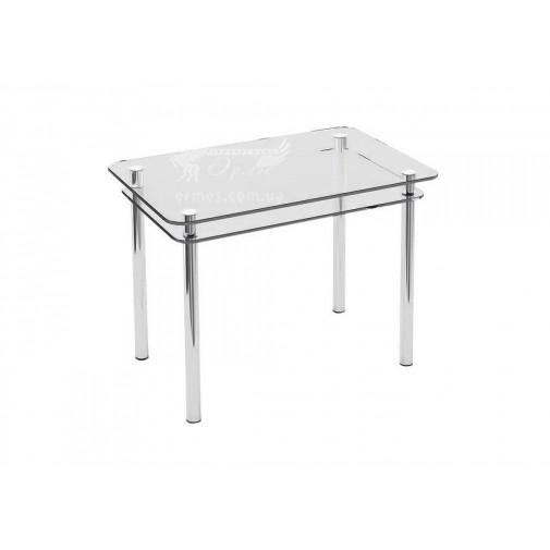 Стол обеденный S5 ESCADO (небольшой стеклянный с двумя столешницами)