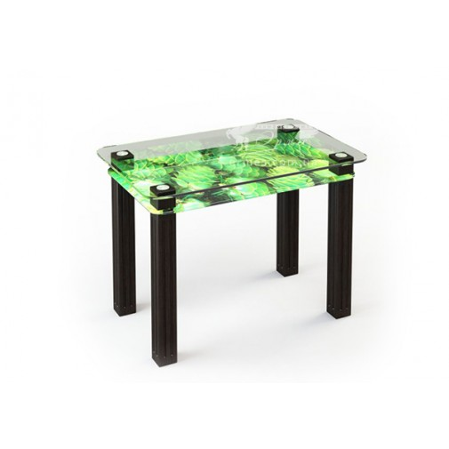 Стол обеденный SW5 ESCADO (стеклянный с дополнительной полкой)