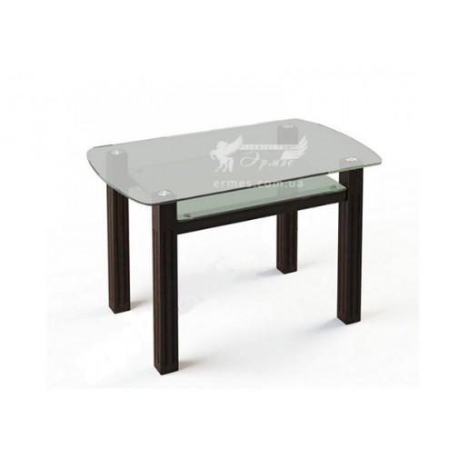 Стол обеденный SW7 ESCADO (стеклянный с дополнительной полкой)