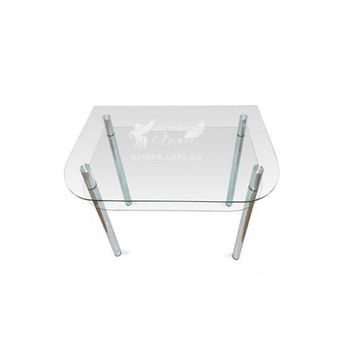 Стол обеденный А3 ESCADO (стеклянный с дополнительной столешницей)