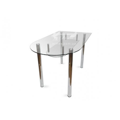 Стол обеденный А5 ESCADO (стеклянный на хромированных ножках)