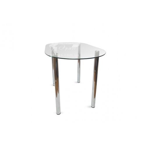 Стол обеденный А7 ESCADO (стеклянный овальный)