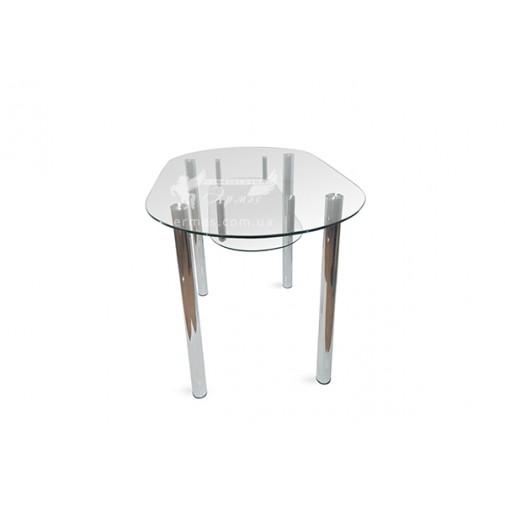 Стол обеденный А8 ESCADO (стеклянный на хромированных ножках)