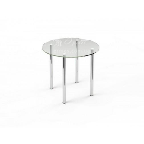 Стол обеденный R3 ESCADO (стеклянный круглый для кухни)