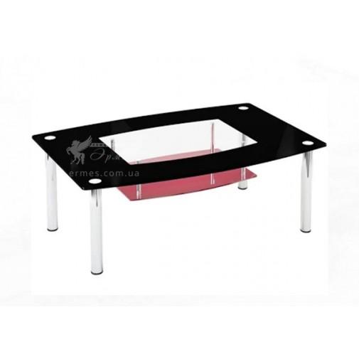 Журнальный столик JTS 013 ESCADO (стеклянный с хромированными ножками)