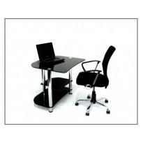 Комп'ютерний стіл Р-2 ESCADO (Невеликий скляний)