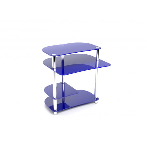 Комп'ютерний стіл Р-3 ESCADO (невеликий скляний)