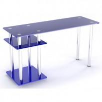 Комп'ютерний стіл Р-5 ESCADO (скляний прямий)