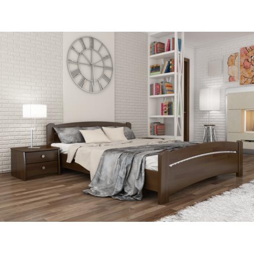 """Кровать """"Венеция"""" Массив Эстелла (деревянный кровать и низким изножьем)"""