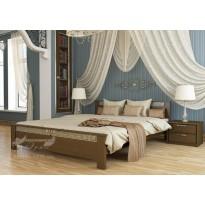 """Кровать """"Афина"""" Щит Эстелла (деревянная кровать с декором)"""